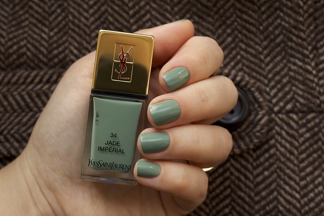 11 YSL Jade Imperial swatches