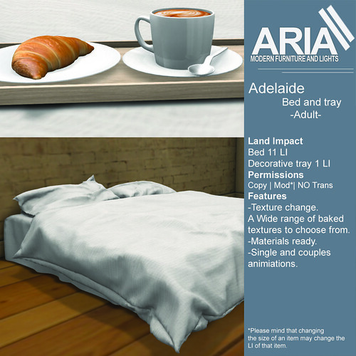 Adelaide bed adult @TMD