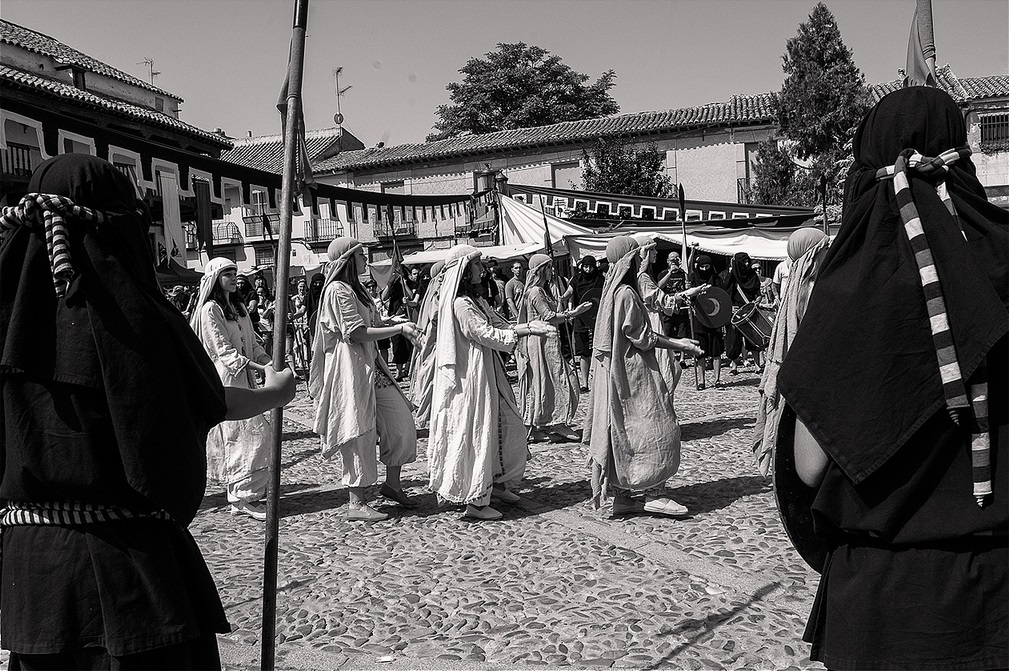 13. Detalle de las fiestas de Consuegra medieval, edición de 2012. Autor, Jose María Moreno García