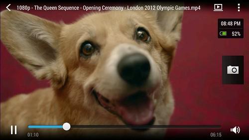 ดูคลิป 1080p บน HTC One Max