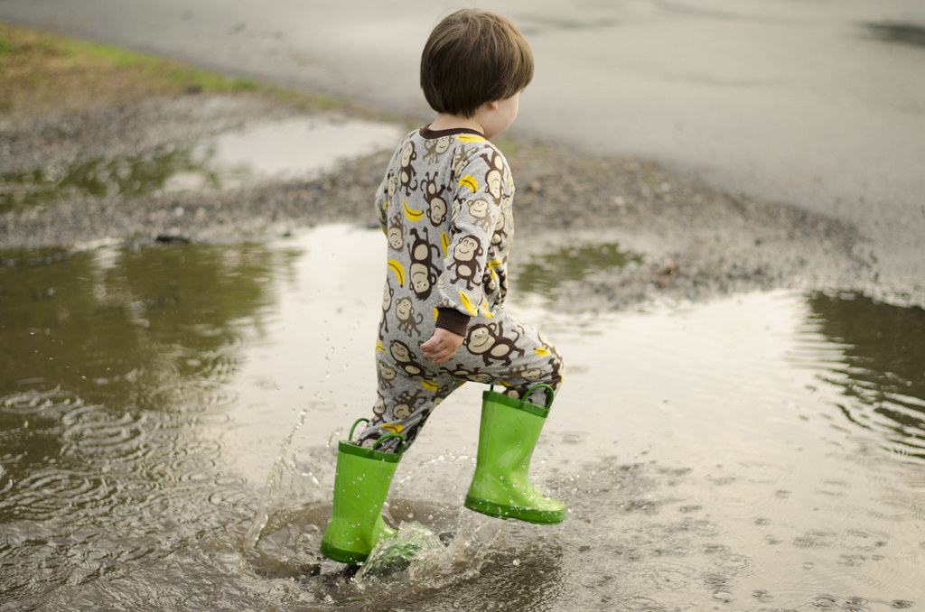 short story // puddle jumping 6