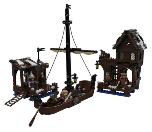 LEGO Hobbit: Lake Town Chase