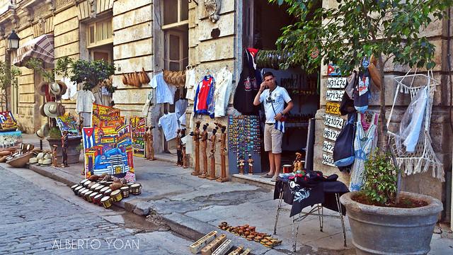 negocio La Habana Cuba