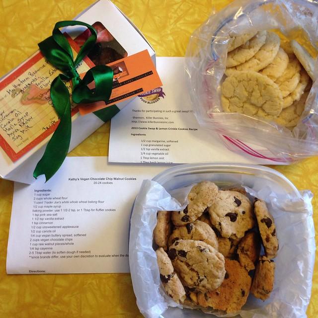 Food Blogger Cookie Swap Cookies