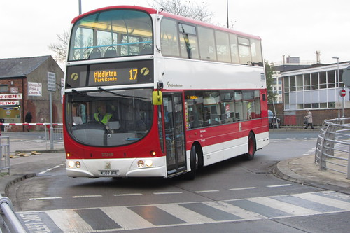 Volvo B9TL, First Greater Manchester MX07 BTE