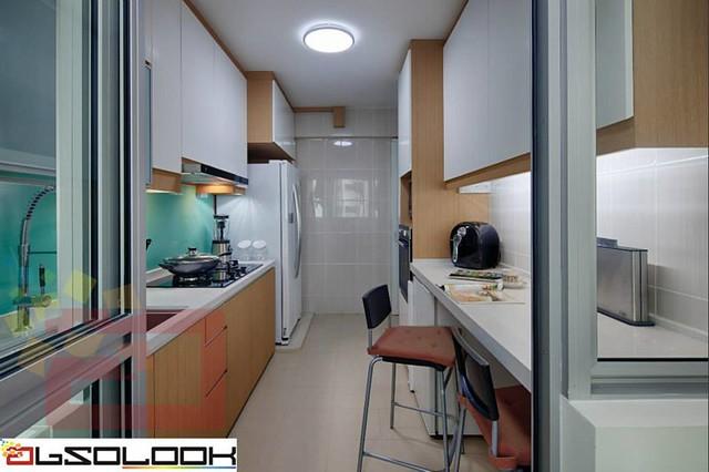 sofa 4 seater low arm hdb 5-room bto @ woodlands crescent - interior design ...