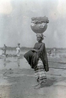 Woman from the Baramba tribe near the Niger River, 1927.
