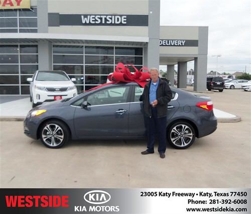 Happy Birthday to John R Buchan from Guzman Gilbert and everyone at Westside Kia! by Westside KIA