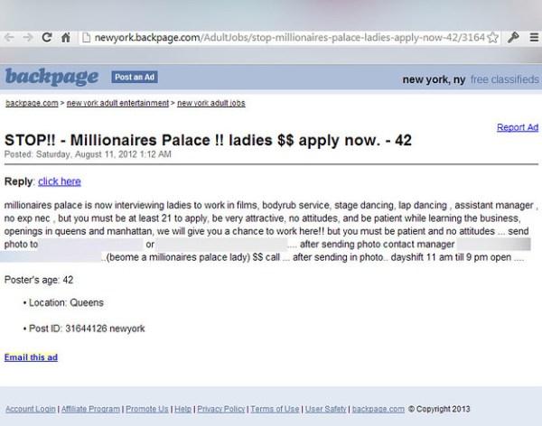Millionaires Palace