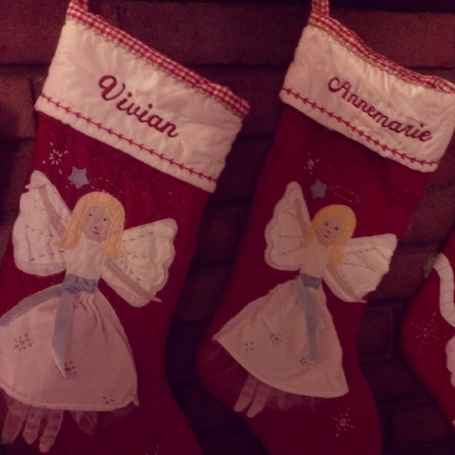 Time to hang the stockings. :-)