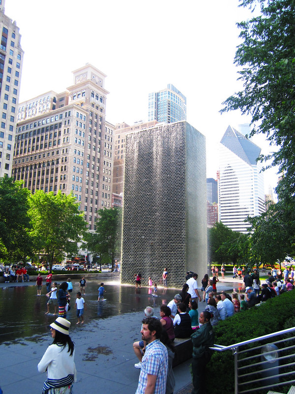 Crown Fountain 1