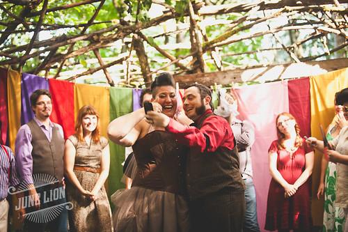 Beth + Garrett's Camp Epic Wedding