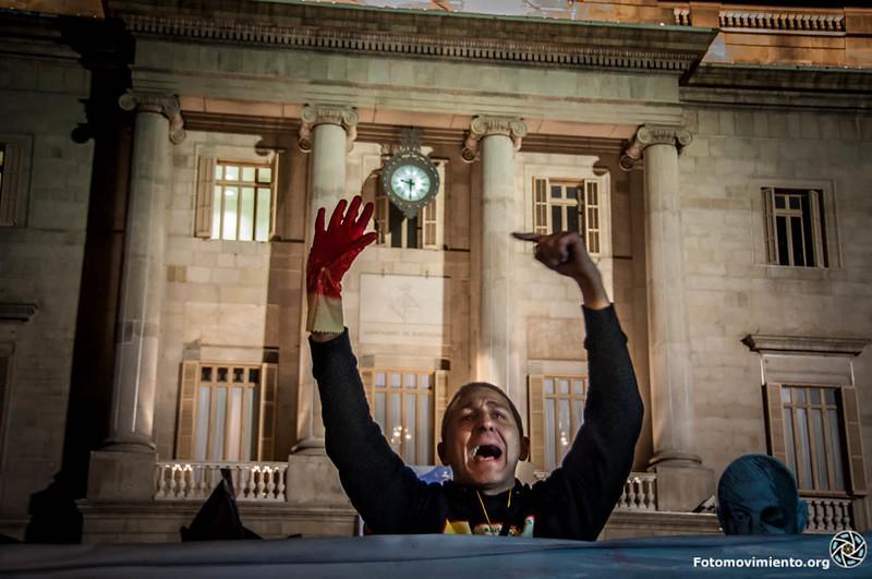 #JusticiaJuanAndres #ProuBrutalitat #ProuImpunitat #14N. Foto: Fotomovimiento