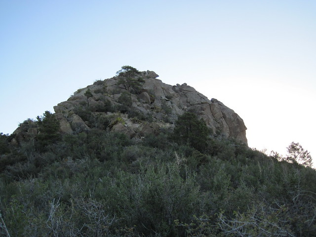 Picture from Thumb Butte, Arizona