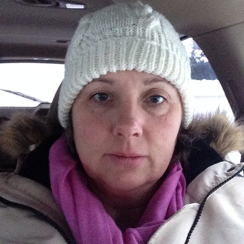 My 'it's 8am and -24C' face.