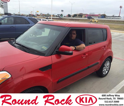 Thank you to John Trench on your new 2013 #Kia #Soul from Frizzell Sutherlin  and everyone at Round Rock Kia! #NewCar by RoundRockKia