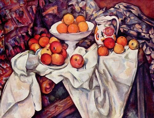 Paul Cézanne, Maçãs e Laranjas, 1899