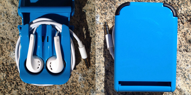 Square Jellyfish Earbuds Case and Stand