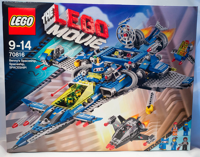REVIEW LEGO 70816 The LEGO Movie - Benny's Spaceship