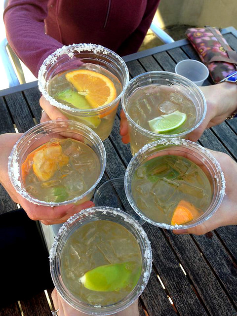 Margaritas in Carpinteria.