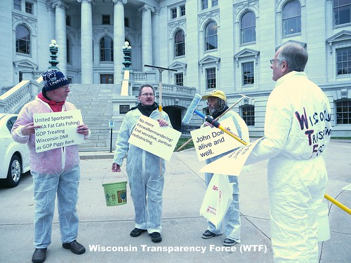 Wisconsin Transparency Force (WTF) assembles