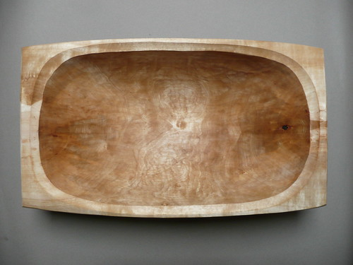 carved bread dough bowl