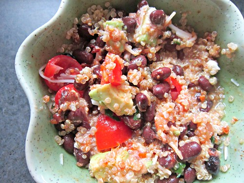 Quinoa and Black Bean Bowl