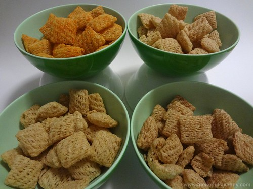 Chex Chips in Bowls
