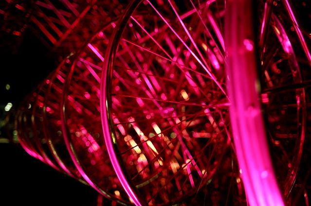 Pink Spokes