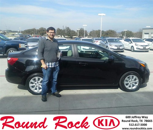 Thank you to Bruce Nguyen on your new 2013 #Kia #Rio from Eric Armendariz and everyone at Round Rock Kia! by RoundRockKia