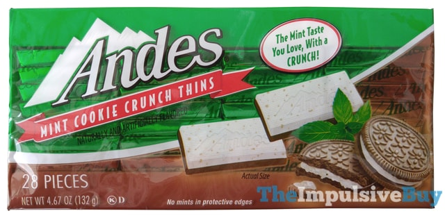 Andes Mint Cookie Crunch Thins