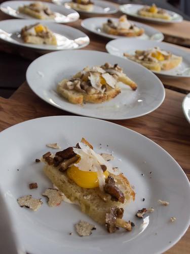 Buca's Beautiful Eggs at Toronto Taste 2013
