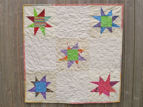 Star Quilt - Secret Project for Jewells