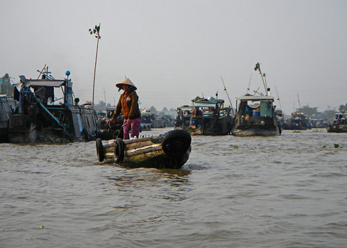 The Drink Vendor, Mekong River Floating Market