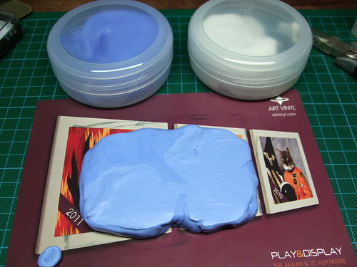 Silicon mould putty