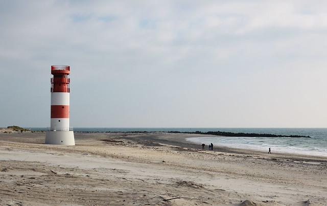 Helgoland Düne Leuchtturm