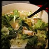 Then finally, lots and lots of #Escarole to the #ItalianWeddingSoup