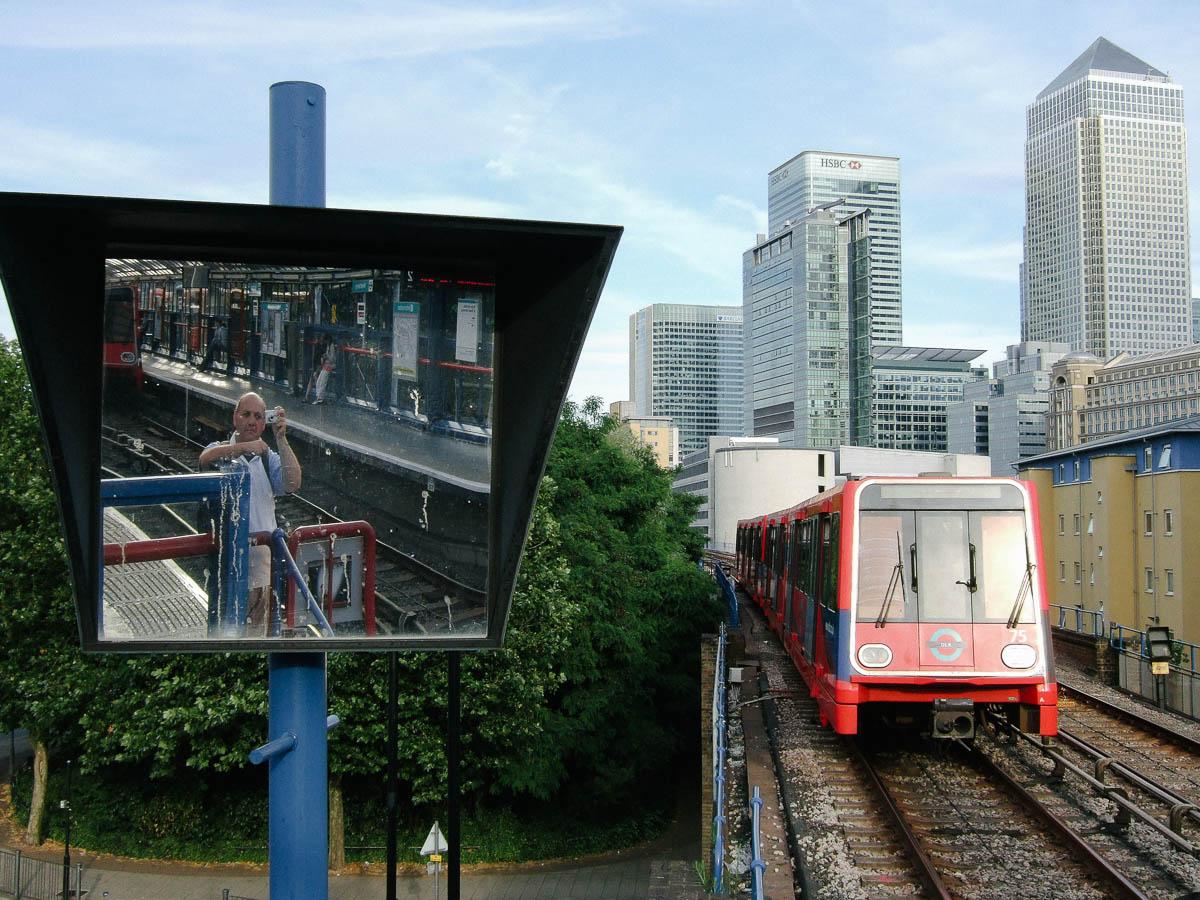 DLR y Canary Wharf