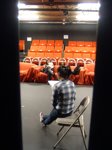 2011 - Memorizing lines right before the show