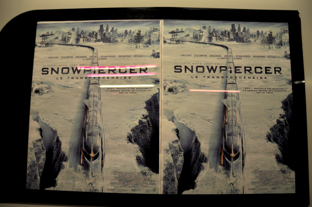 Snowpiercer posters x2