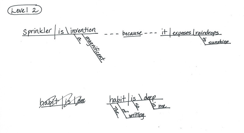 Mt Hope Chronicles Sentence Diagramming Challenge Answers