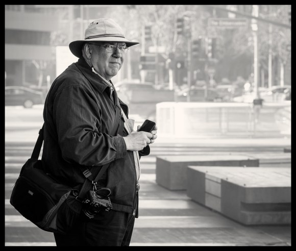 The Street Photographer at Work