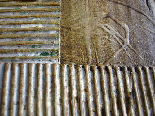 Texture city close up