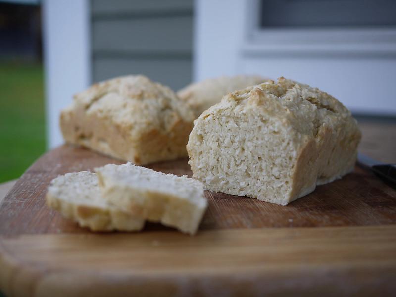 Tongan Coconut Bread - crumb