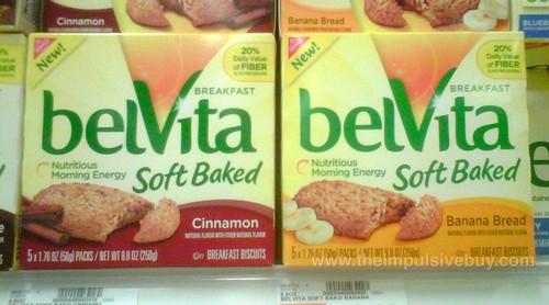 Nabisco belVita Soft Baked (Cinnamon and Banana Bread)
