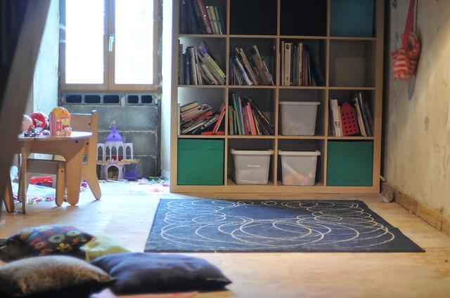 a clean floor
