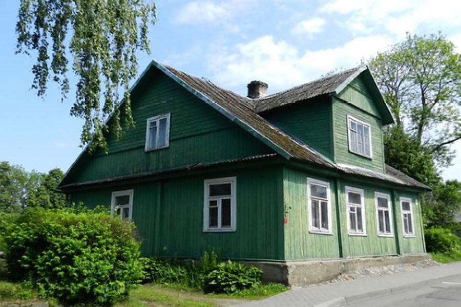 casas de madera en Trakai-Lituania Patrimonio de la Humanidad UNESCO 70