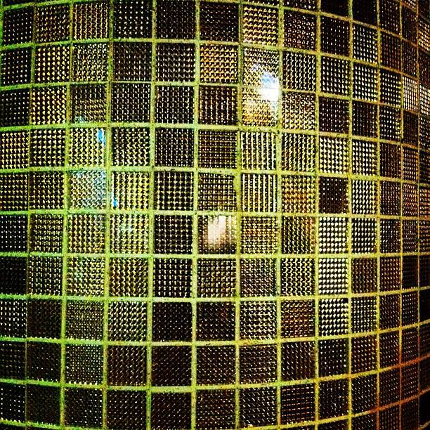 Bling bling wall at Shanghai Dolly, Clarke Quay. #iseefreedom