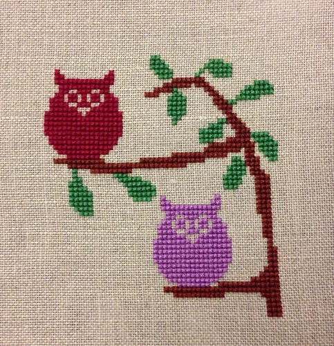 Owls in a tree