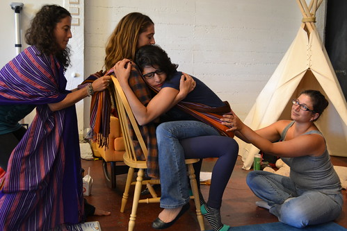 Berkeley Ca Rebozo Workshop with Gena Kirby